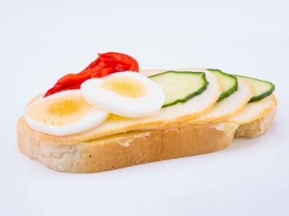 Obložený syrový chlebík